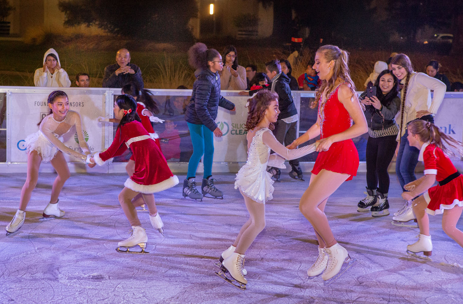 Dancing on the Ice in Sunnyvale, CA